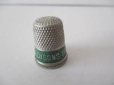 Vintage Advertising Thimble - Dysons Self Raising Flour