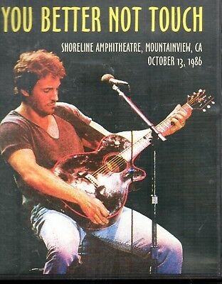 BRUCE SPRINGSTEEN - You Better Not Touch, DVD EUROPE 2003