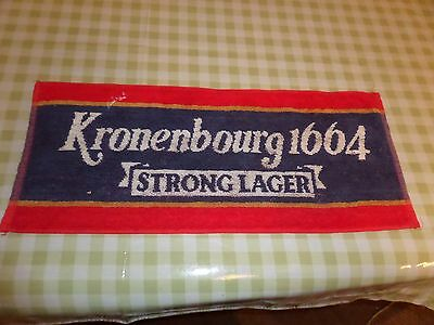 Cloth Bar Towel - Kronenbourg 1664 Strong Lager