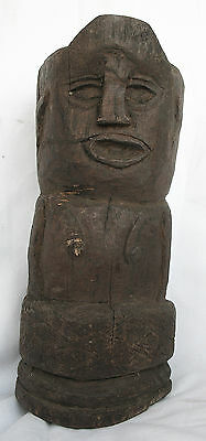 FINIAL / ROOF ORNAMENT TIMOR TRIBAL TRADITIONAL SCULPTRE - mid 20th C