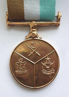 Pakistan - 35 Year Service Medal - Comes With A Ribbon And Medal Wallet
