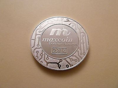 Maxcoin Cryptobullion Silver Wallet  One Ounce 999 Silver Physical Wallet