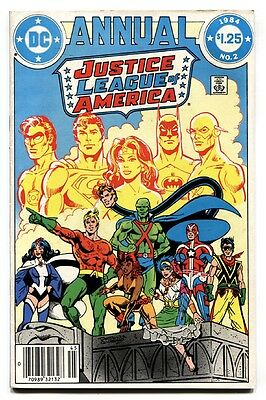 Justice League of America Annual #2 comic book-First VIBE / GYPSY 1984 DC