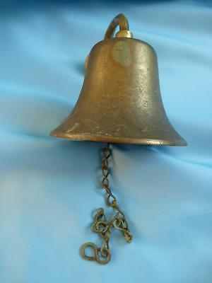 Vintage Solid Wall Mounted Brass Bell