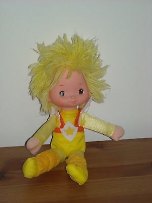 Vintage Rainbow Brite Doll, Canary Yellow. 1983.