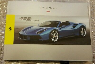 Ferrari 488 Spider Owner's Manual