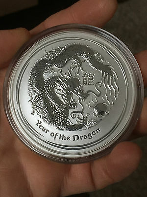 5 oz Lunar II Year of the Dragon Year of the Dragon 999 Silver Silver Coin Coin