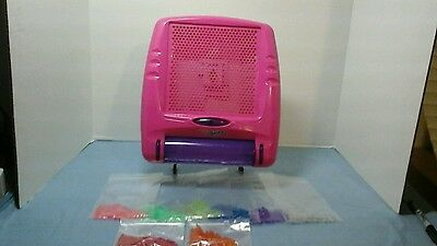 Pink And Purple Lite Bright Complete With Lite Bright Pegs Tested And Works