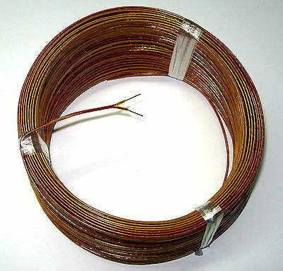 K-type Thermocouple Wire AWG 24 Solid with Kapton Insulation Extension 1 yard