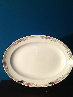 "Johnson Brothers England ""The Bombay"" 16"" Oval Platter"