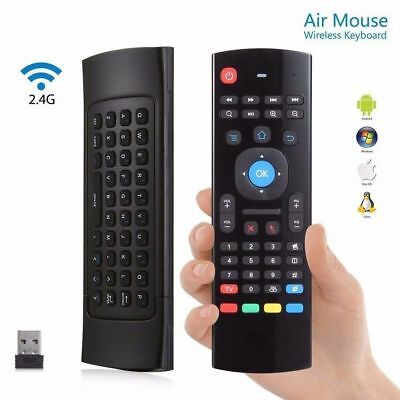 Mini Wireless 2.4Ghz Keyboard Air Mouse Remote for Raspberry Pi PC /Android KODI