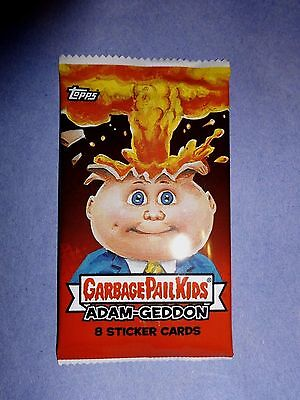 2017 Garbage Pail Kids Adam-Geddon Unopened Sticker Pack from Box!