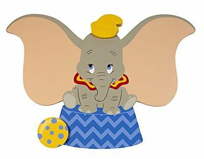 Disney Dumbo Shaped Wall Art Nursery Wall Decor, New