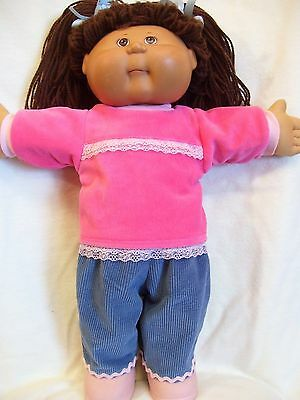 Cabbage Patch doll clothes,Pants and Top set,fits 16inch-18inch Baby Dolls