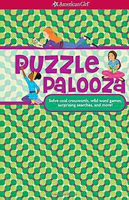 Puzzle Palooza: Solve Cool Crosswords, Wild Word Games, - Spiral-bound NEW Trula