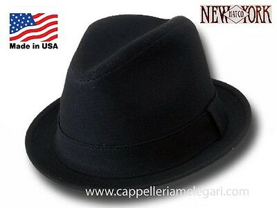 Cappello Trilby in cotone Rocky Balboa New York Hat