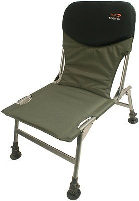 TF Gear Chill Out Carp Fishing Chair TFG Lightweight Strong Seat Ex Demo