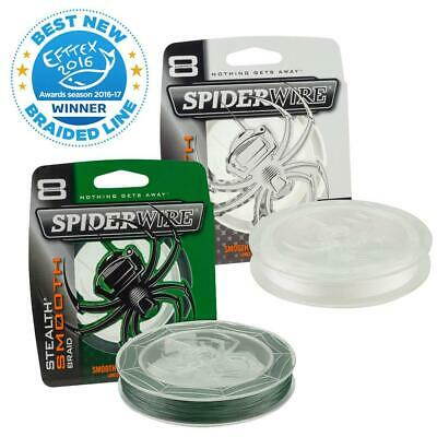 Spiderwire Stealth Smooth 8 Fishing Braid Line - 150M Spool - Choose Colour