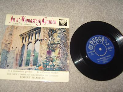 "7"" Ep In A Monastery Garden - New Symphony Orch London - Sto.126"