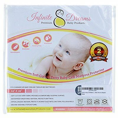 Premium Baby Mattress Pads Crib Mattress Pad Cover High Quality Breathable 2