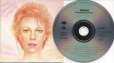 FRIDA - Something's going on - rare ORG CD-Issue/see Picture/Germany/ABBA