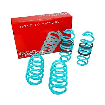 Godspeed Traction-S Lowering Springs For Audi A4(B8) 2009-16