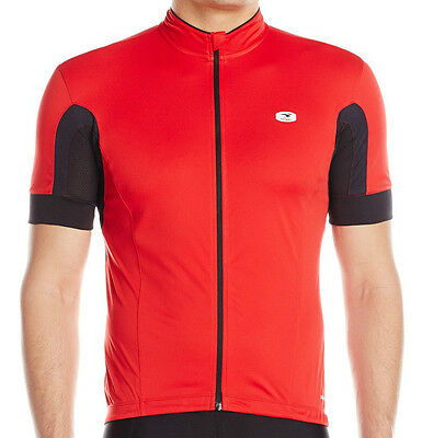 New Sugoi Evolution Men Cycling Jersey Bike Bicycle Top Chili Red Medium XL XXL