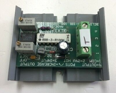 Belimo IRM-100 Input Rescaling Module Current Amplifier 24VDC Input 2-10 VDC Out