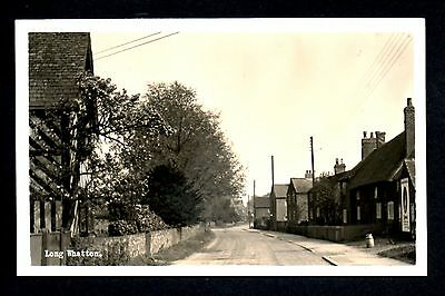 Long Whatton - real photographic postcard