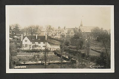 Uppingham - real photographic postcard