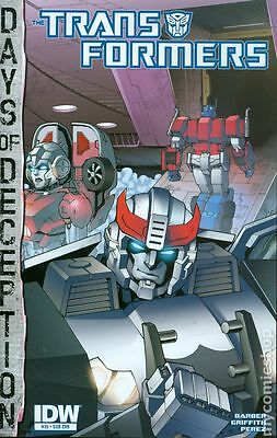 Transformers (2012 IDW) Robots In Disguise #35SUB NM