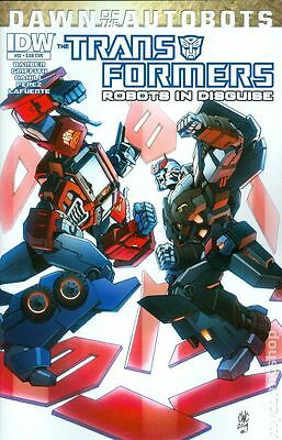 Transformers (2012 IDW) Robots In Disguise #32SUB VF