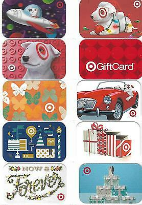 Nice Selection Of 10 Target Gift Cards - T1-16