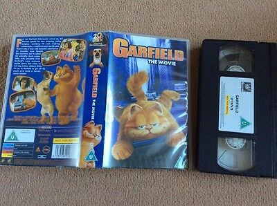Garfield The Movie Video Vhs Pal Uk