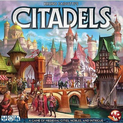 Citadels Board Game 2016 - Brand New