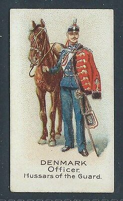 Bat British American Soldiers Of The World Plain Denmark Officer Hussar Of Guard