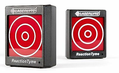 LaserLyte TLB-RT Reaction Tyme Laser Practice Electronic Pistol Target *2 Pack*