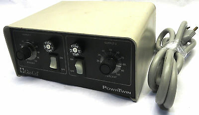 GLAS-COL PL1202 PowrTwin 14A Heating Mantle Proportional Power Controller