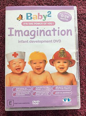 DVD BABY2 IMAGINATION It's The Power of You! infant development 0-24 mnths 2005