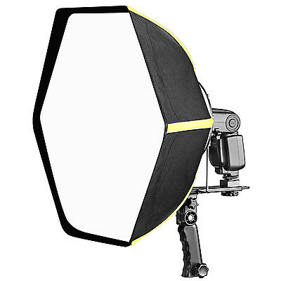 "Neewer 20"" Collapsible Hexagonal Softbox with Hand Grip for Speedlights"