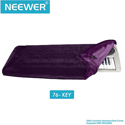 Neewer Keyboard Dust Cover for 76 Key Keyboards(Purple)