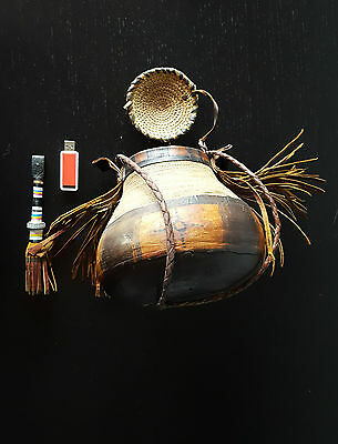 Antique africain MAURITANIE TOUAREG AFRICANISCH NOT KNIFE NORTH AFRICAN BASKET
