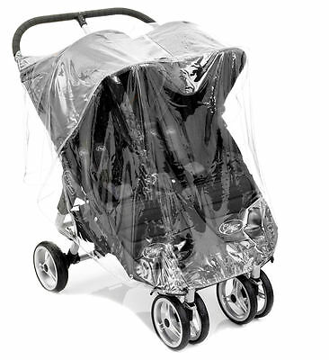 New Baby Jogger City Mini Twin Double Pushchair Raincover