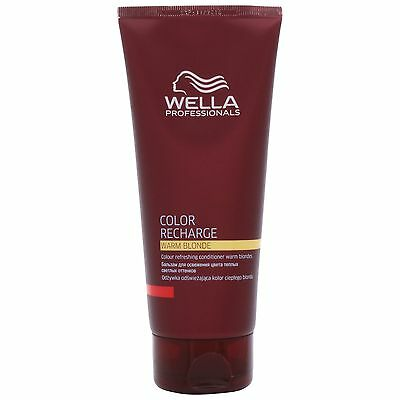 Wella Professional Care Recharge Warm Blonde Colour Conditioner 200ml for women