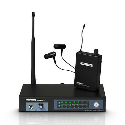 LD Systems MEI ONE 1 Wireless In-Ear Monitoring System (863.700MHz) (NEW)
