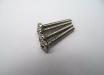 4x 25mm Motor Bolts/Screws For Most Tamiya Cars With 540 Motors.Stainless Steel