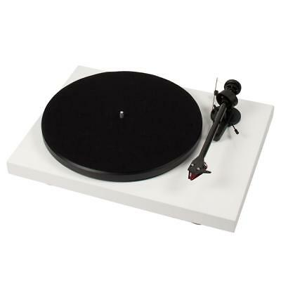 Pro-Ject Debut Carbon DC Turntable White Gloss FREE DELIVERY