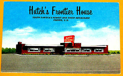 Hutch's Frontier House Restaurant Presho South Dakota 1960s c