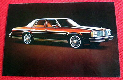 1979 Delta 88 Royale Oldsmobile General Motors Postcard c