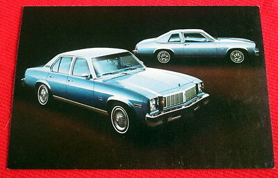 1979 Omega Oldsmobile General Motors Postcard c